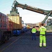 El tráfico de mercancías en el Puerto de Barcelona. Foto: Europa Press