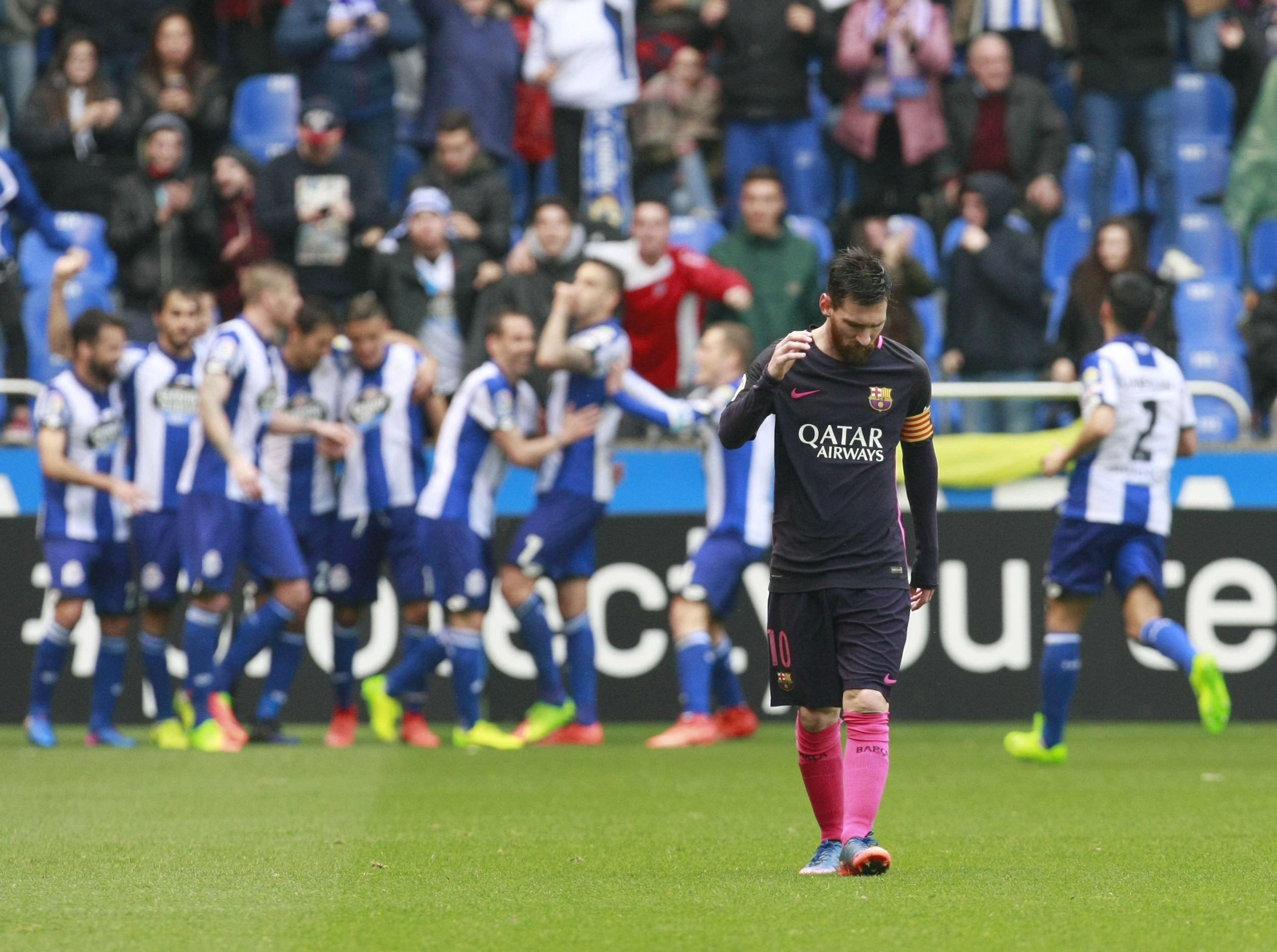 Leo Messi Deportivo Barça EFE