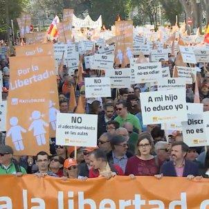 hazte ori manifestacio madrid