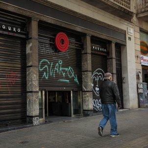 Restaurants tancats per la crisi del coronavirus. Foto: Sergi Alcazar