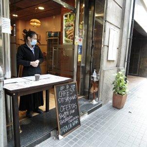 Bars locals terrassa tancats buits coronavirus covid-19 crisi  - Sergi Alcazar