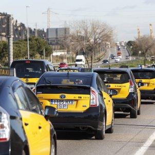 Concentració Taxistes SergiAlcàzar 05