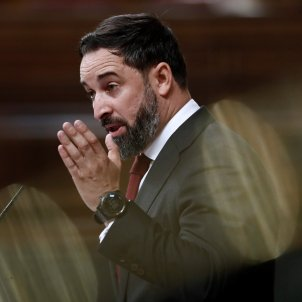 santiago abascal mocio censura vox EFE