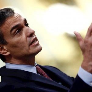 Pedro Sánchez moció censura Vox EFE