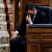 Pedro Sánchez pensatiu reforma poder judicial Congrés EFE