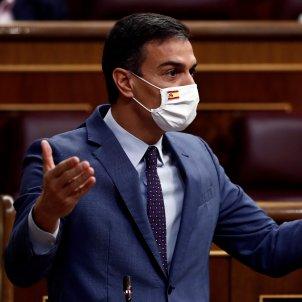 Sánchez el dia moció censura / EFE