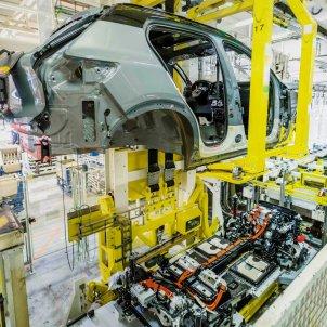 Una fàbrica d'automòbils a Espanya. Foto: Europa Press