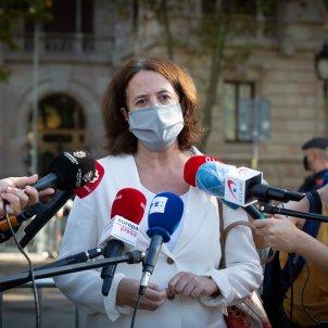 La presidenta de l'Assemblea, Elisenda Paluzie, en unes declaracions. Foto: Europa Press