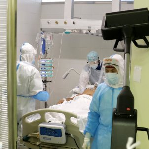 UCI hospital mataró coronavirus - ACN