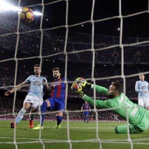 Samuel Umtiti gol Barça Celta EFE