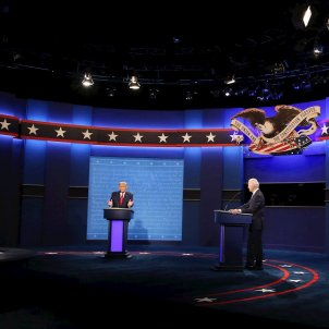 TRump Biden debat EUA