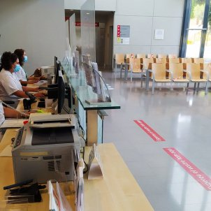 pla general sala espera hospital figueres - ACN