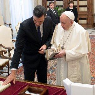 reunio sanchez papa francesc - @sanchezcastejon