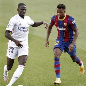 Barça Madrid Mendy Ansu Fati EFE