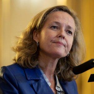La vicepresidenta del govern espanyol Nadia Calviño. Foto: Efe