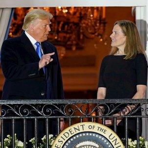 Trump i Amy Coney Barrett   EFE