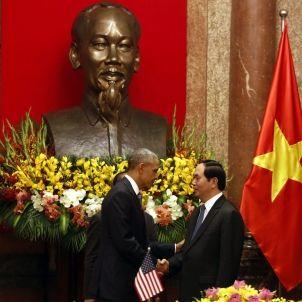 Barack Obama Vietnam Ho Chi Minh / Efe