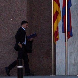 Josep Maria Bartomeu Barca bandera catalunya EFE