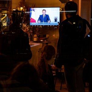 Macron discurs nou confinament EFE