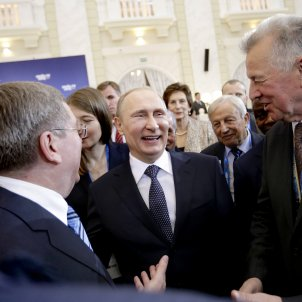 Vladimir Putin riu GTRES