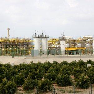 Vista general de la planta terrestre del projecte Castor. Foto: ACN