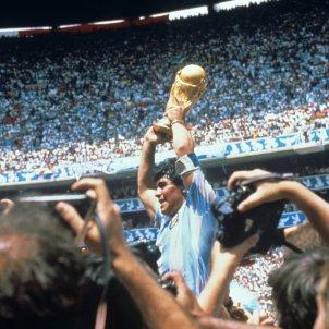 Maradona Mundial México 1986 EFE