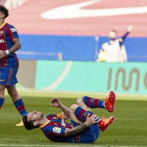 Messi lesió EuropaPress