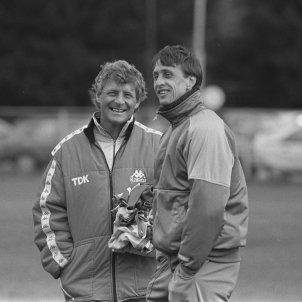 Tonny Bruins Johan Cruyff @AFCAjax