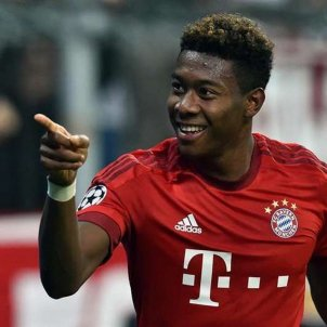 David Alaba Bayern Munich EFE