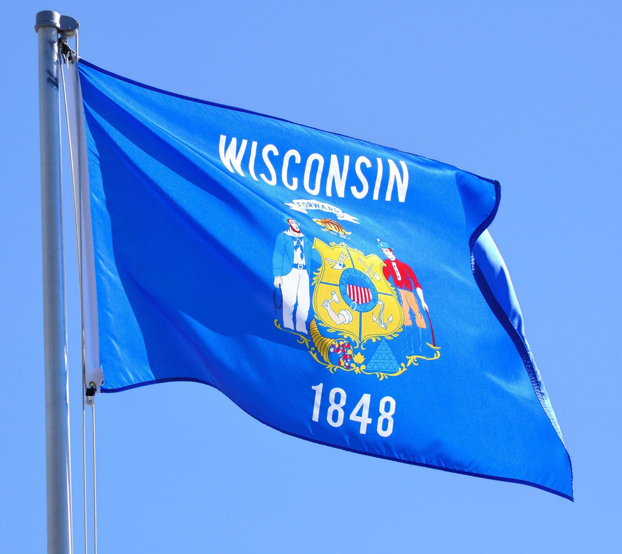 wisconsin bandera