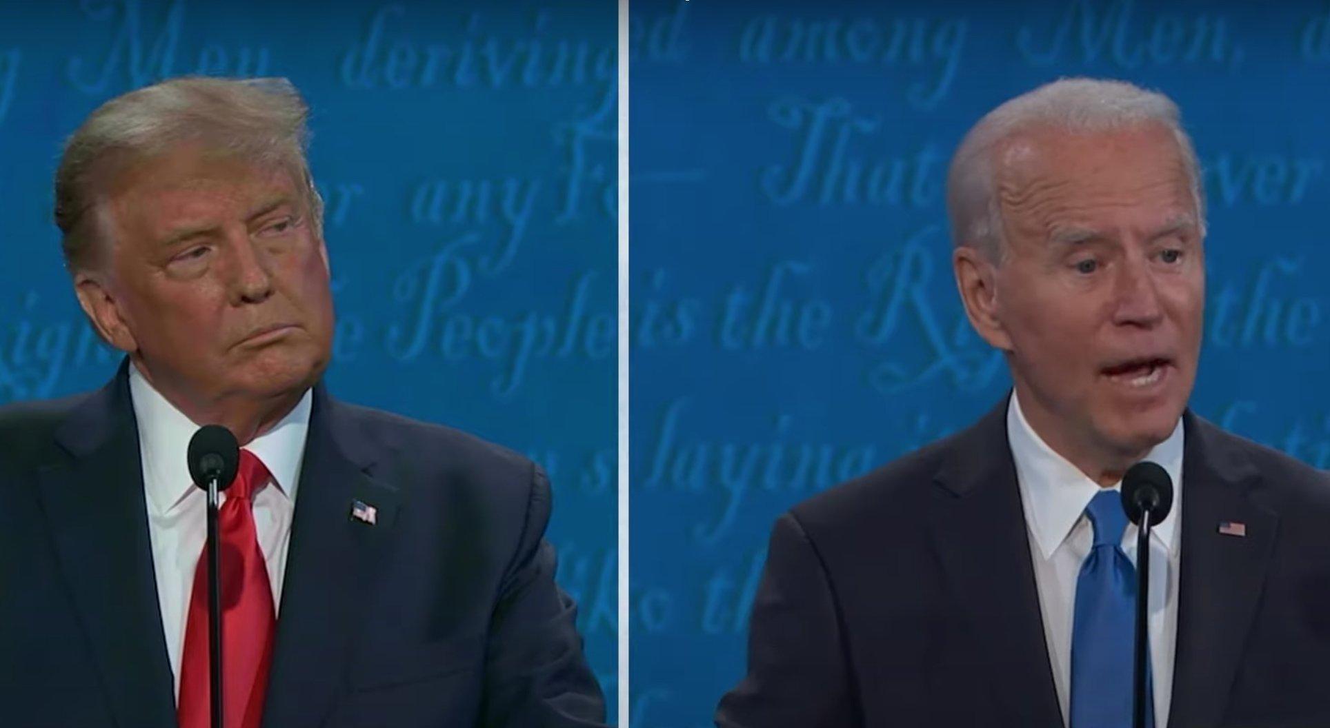 Trump Biden (C Span)