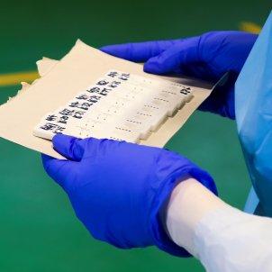 coronavirus infermera test - efe
