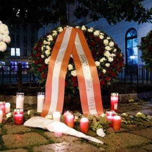 Homenatge a les víctimes de Viena / EFE