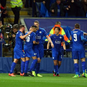 Leicester Sevilla Champions League Efe