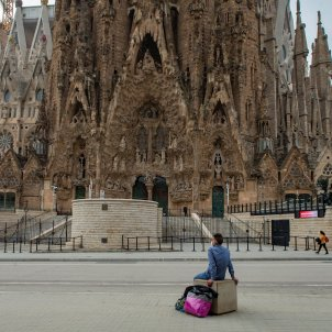 coronavirus Barcelona Sagrada Família confinament perimetral EFE