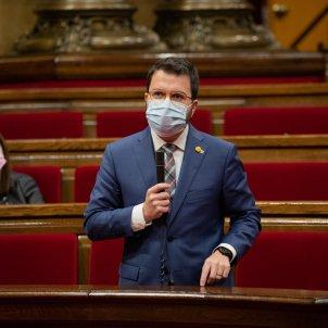 EuropaPress 3412642 vicepresidente generalitat pere aragones sesion control govern pleno