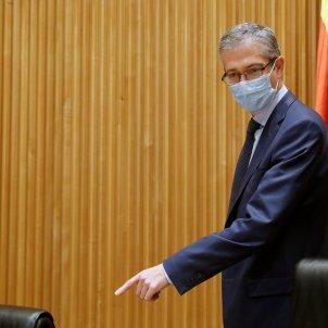 El Gobernador del Banco de España, Pablo Hernández de Cos. Foto: Efe/Zipi/Archivo