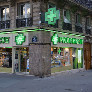 Farmàcia París Viquipèdia Flightlog