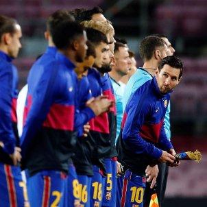 Messi jugadors Barca Dinamo Kiev EFE