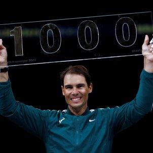 Rafa Nadal 1000 partits ATP Tenis Paris EFE