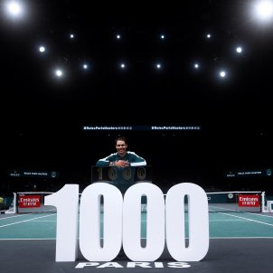 Rafa Nadal cartell 1000 victories Paris EFE