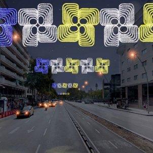 llums virtuals paral·lel barcelona nadal - ACN