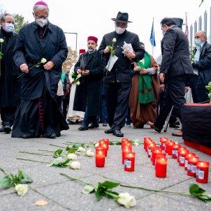 Mostres condol atemptat gihadista Viena EFE