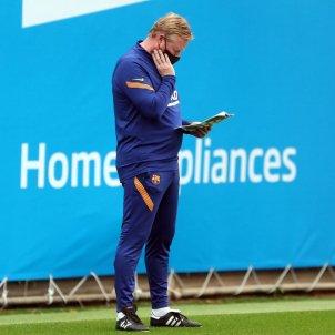 Ronald Koeman entrenament / FCB