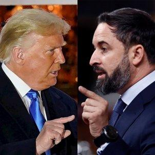 Trump Abascal muntatge EFE