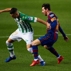 Messi Guido Rodríguez Barça Betis EFE