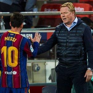 Koeman Messi Barca Betis EFE