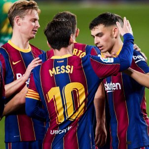 Pedri Messi Betis EFE