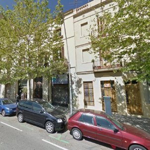 carrer llull google maps