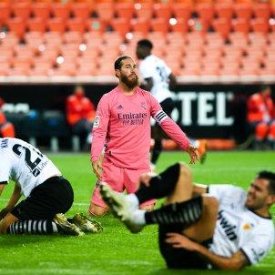 Sergio Ramos València Reial Madrid EuropaPress